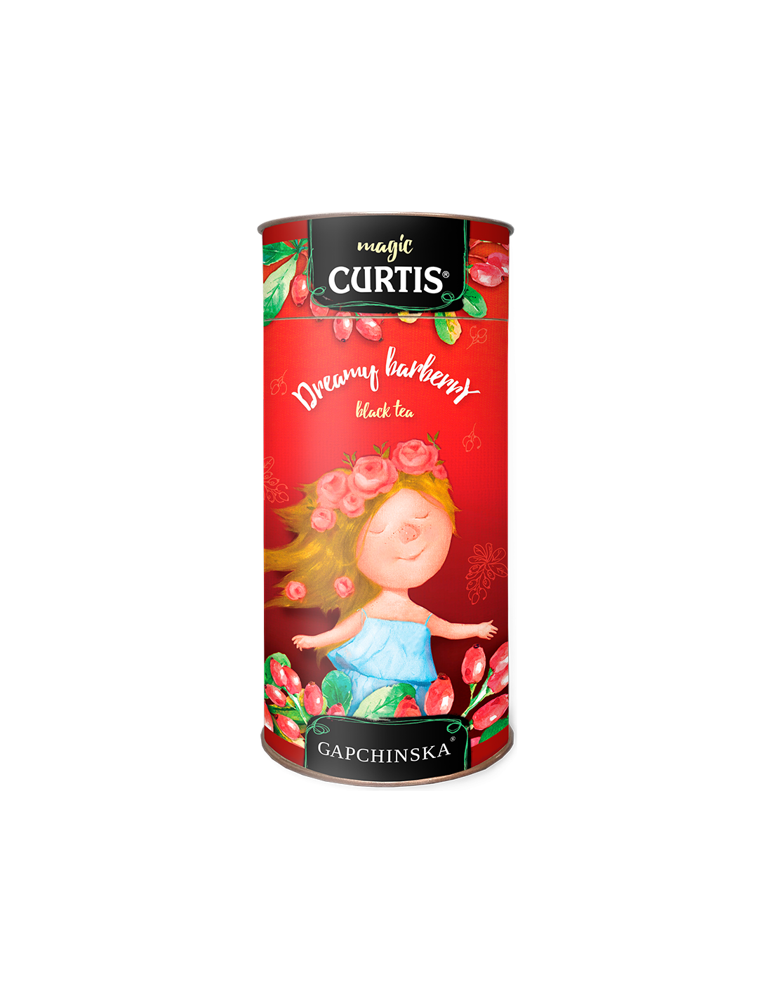 Curtis Dreamy barberry 80g (sypaný čaj)