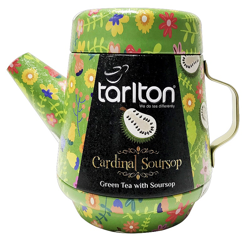 TARLTON Tea Pot Jasmine Teardrops Green Tea plech 100g